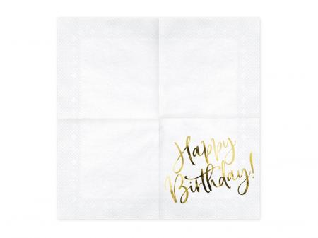 Set 20 Servetele Happy Birthday [1]