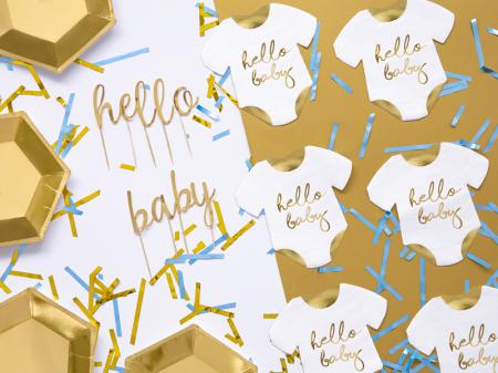 Set 20 Servetele Hello Baby1