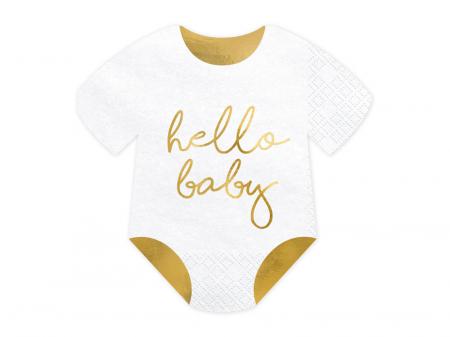 Set 20 Servetele Hello Baby0