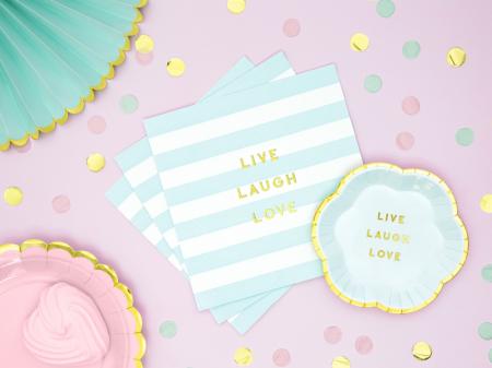 Set 20 Servetele Live Laugh Love3