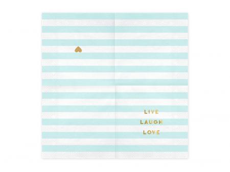 Set 20 Servetele Live Laugh Love1