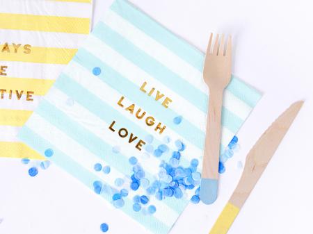 Set 20 Servetele Live Laugh Love2