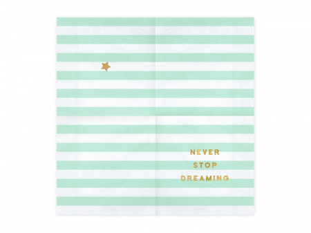 Set 20 Servetele Never Stop Dreaming [1]