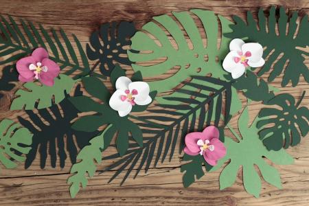 Set 21 Decoratiuni Frunze - Aloha [1]