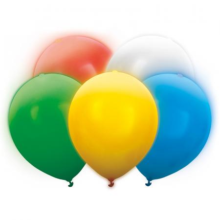 Set 5 Baloane LED, Multicolor - 30 cm [0]