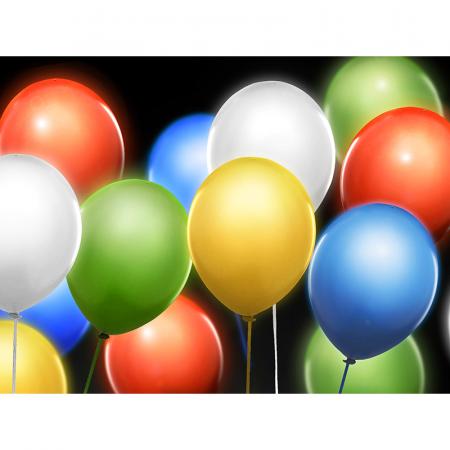 Set 5 Baloane LED, Multicolor - 30 cm [2]