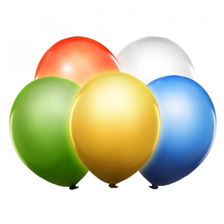 Set 5 Baloane LED, Multicolor - 30 cm [1]