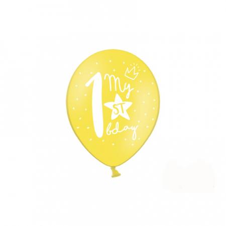 Set 6 Baloane Aniversare 1 an - 30 cm4