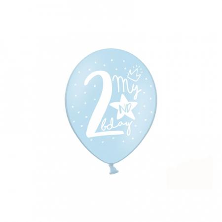 Set 6 Baloane Aniversare 2 ani - 30 cm4