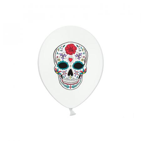Set 6 Baloane Dia de Los Muertos - 30 cm [0]