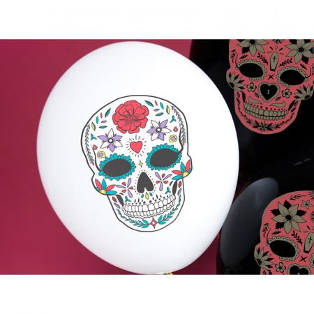 Set 6 Baloane Dia de Los Muertos - 30 cm [2]