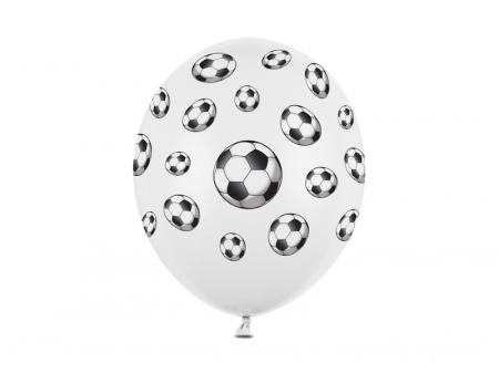 Set 6 Baloane Fotbal - 30 cm [0]