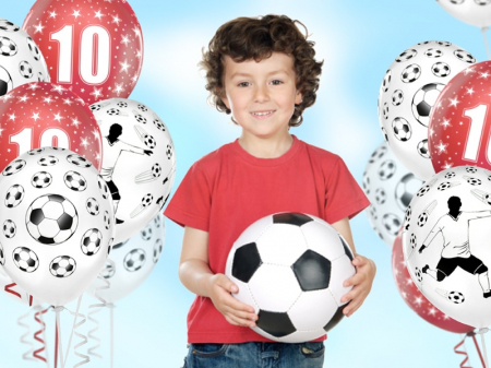 Set 6 Baloane Fotbal - 30 cm [1]