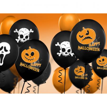 Set 6 Baloane Halloween - 30 cm2