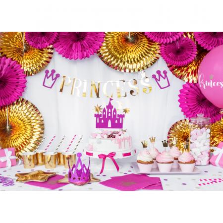 Set 6 Baloane Princess, Roz - 30 cm2