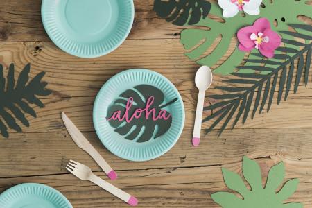 Set 6 Decoratiuni Frunza - Aloha1
