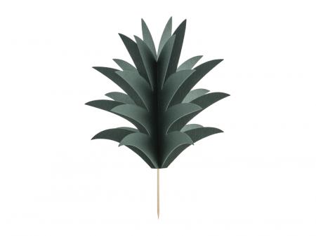 Set 6 Decoratiuni Prajitura - Ananas0