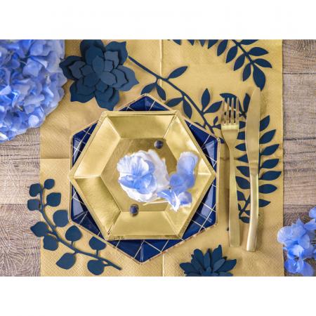 Set 6 Farfurii Aurii, 20 cm [2]