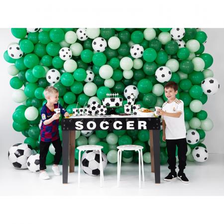 Set 6 Farfurii Fotbal, 18 cm2