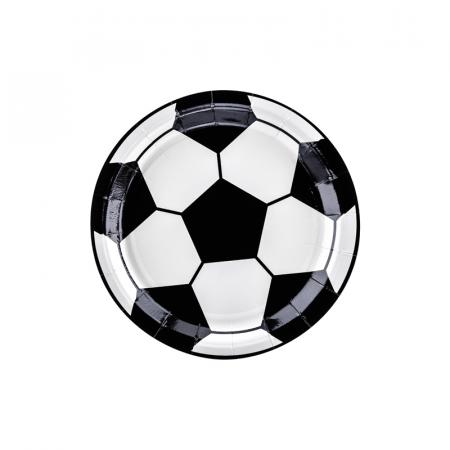 Set 6 Farfurii Fotbal, 18 cm0