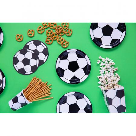 Set 6 Farfurii Fotbal, 18 cm1