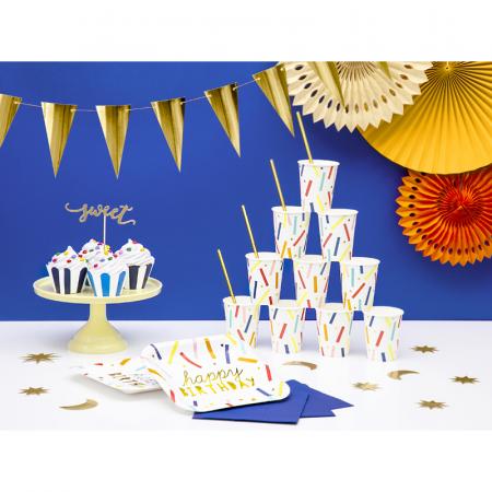 Set 6 Farfurii Happy Birthday, 20 cm [2]
