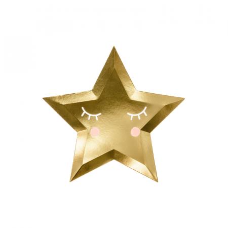 Set 6 Farfurii Little Star, 27 cm0