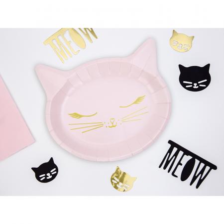 Set 6 Farfurii Pisica, 22 x 20 cm [1]