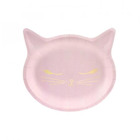 Set 6 Farfurii Pisica, 22 x 20 cm [0]