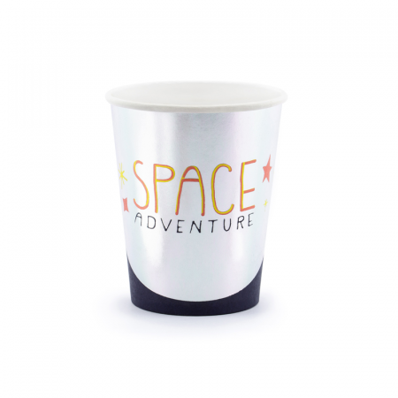 Set 6 Pahare Space Party, 200 ml0