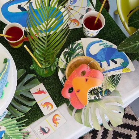 Set 8 Farfurii Frunze Palmier, 23 cm [2]
