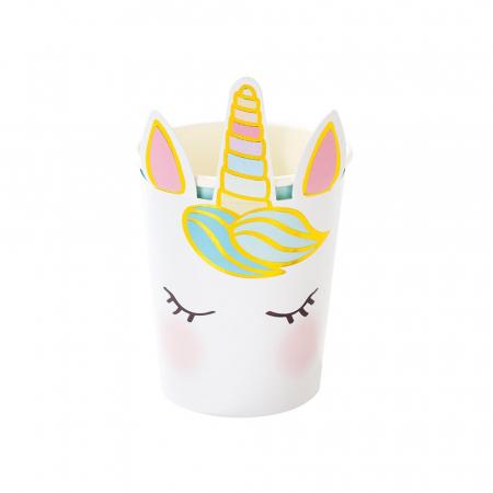 Set 8 Pahare Unicorn, 250 ml [0]