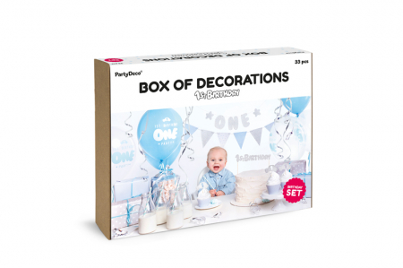 "Set Decoratiuni Petreceri ""1st Birthday"" [2]"