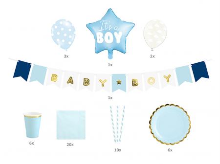 Set Decoratiuni Petreceri - It's a boy [1]