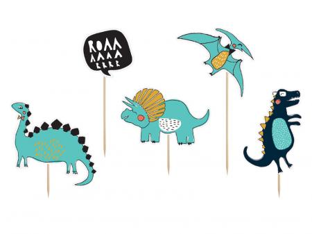 Set Decoratiuni Prajitura - Dinozauri0