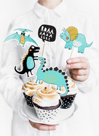 Set Decoratiuni Prajitura - Dinozauri2