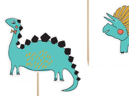 Set Decoratiuni Prajitura - Dinozauri1