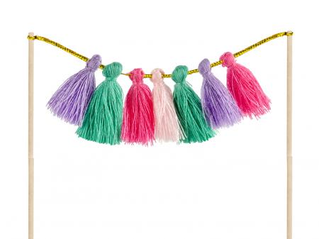 Set Decoratiuni Prajitura - Llama Party1