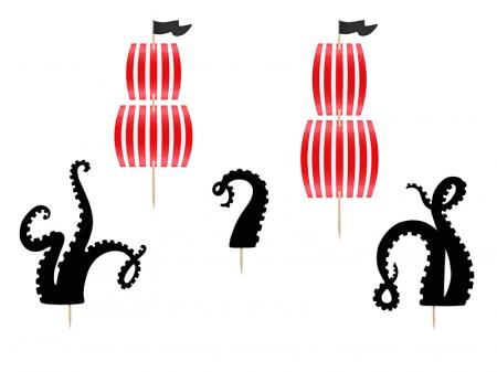 Set Decoratiuni Prajitura - Pirat0