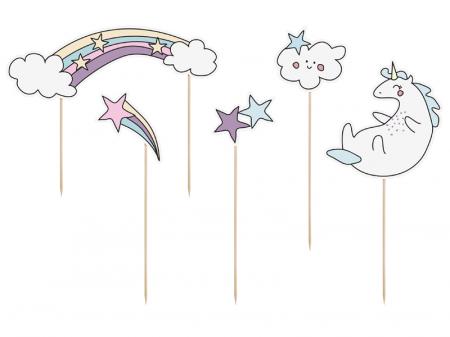 Set Decoratiuni Prajitura - Unicorn0