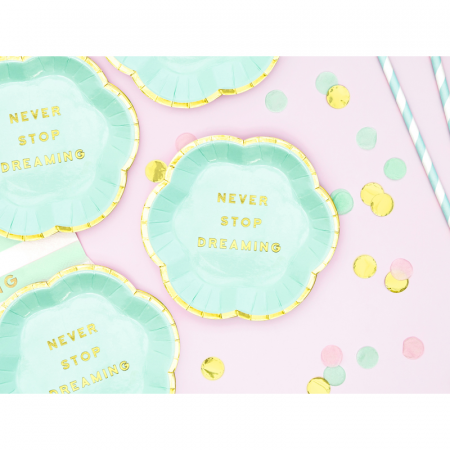 Set farfurii Yummy - Never Stop Dreaming 13 cm1