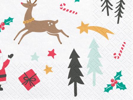 Set 20 Servetele Craciun, Merry Xmas [1]