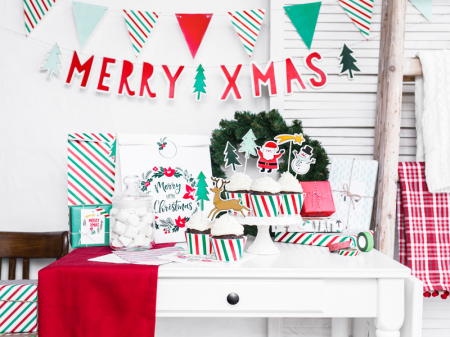 Set 20 Servetele Craciun, Merry Xmas [3]
