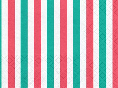 Set 20 Servetele Dungi Colorate [1]