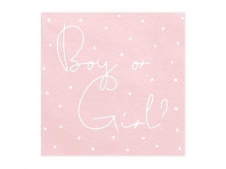 Servetele cu doua fete Boy or Girl, Gender Reveal [0]