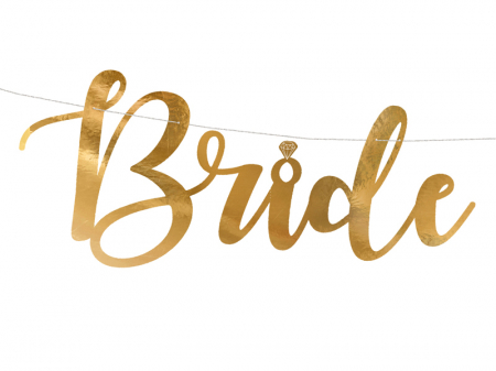 Banner Bride to Be, Auriu, 80 cm [1]