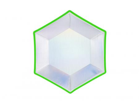 Set 6 Farfurii Holografice, 20 cm1