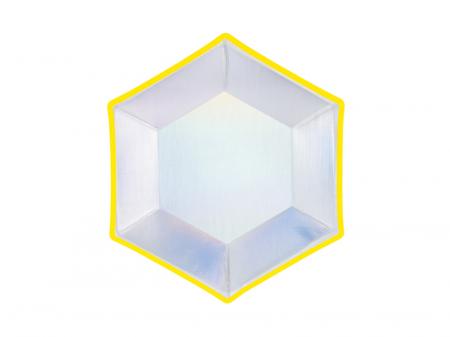 Set 6 Farfurii Holografice, 20 cm2