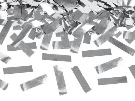 Tun Confetti Argintii 40 cm [2]