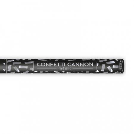 Tun confetti Argintii, 60 cm [1]